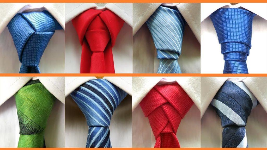 different ways to tie a tie